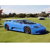 Bugatti Eb110 Cars Photo Side View Of Blue Color