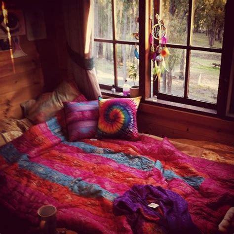 bedroom wood paneling bed  windows romantic rustic boho
