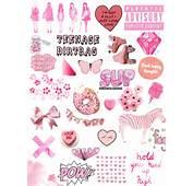 Pink Heart Transparent Tumblr