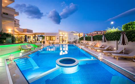 agia marina chania hotel pools oscar suites village