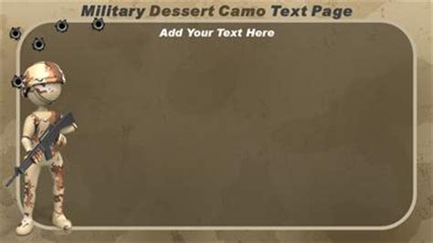 Military Camo A Powerpoint Template From Presentermedia Com Army Powerpoint Templates