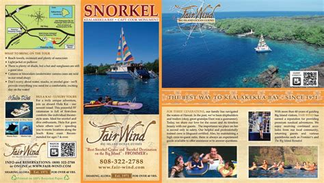 island brochure template order free hawaii travel guide best sles templates