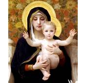 Saint Mary  Blessed Virgin Mother Of Jesus Christ