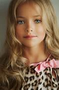 Child model Kristina Pimenova (Russia)