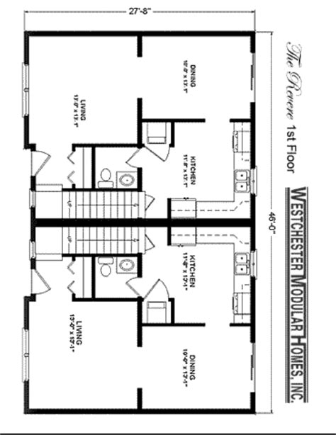 multi family modular home floor plans revere fuller modular homes