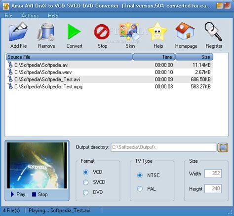 format converter divx divx to vcd converter