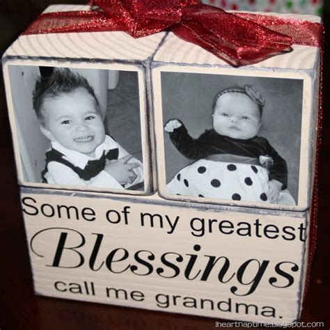 christmas gifts tomake forgrandparents gift idea blocks i nap time