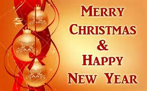 Happy christmas and new year card travel around the world