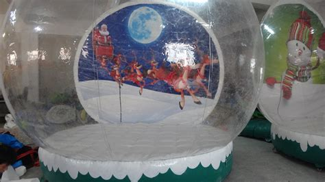 wholesale giant snow globe inflatable christmas decoration