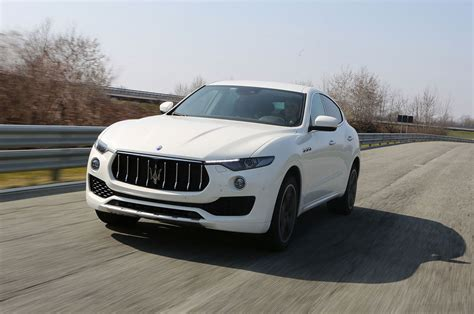 maserati 2017 white 2017 maserati levante first drive review