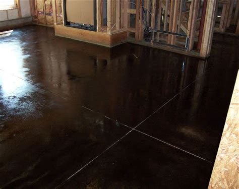 stained concrete great plains concrete