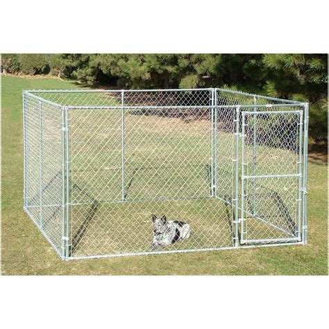 chain link kennel small animal pet behlen country