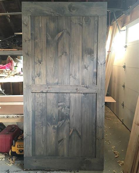 mid bar  border barn door  minwax classic grey