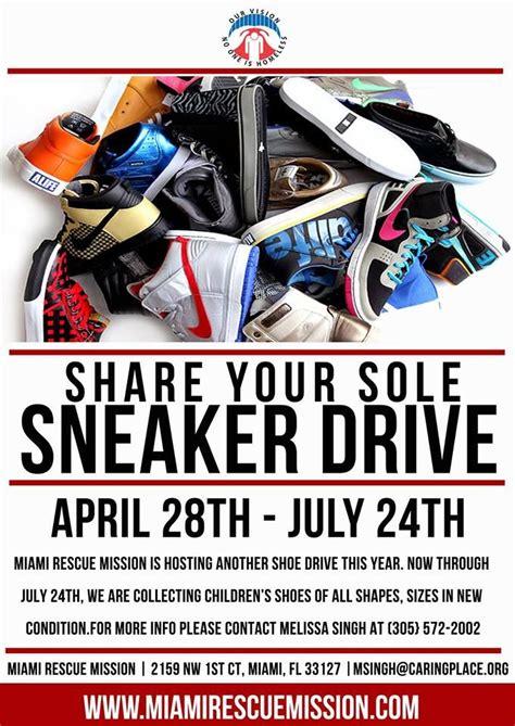 Shoe Drive Flyer Template