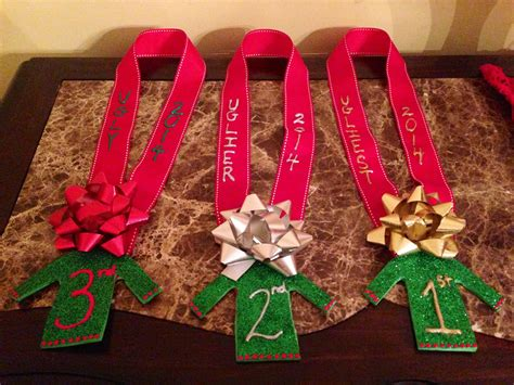 ugly christmas party ideas rewards diy sweater awards time sweater and