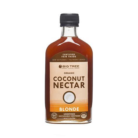 Big Tree Farms Organic Coconut Nectar 326gr organic coconut palm nectar thrive market