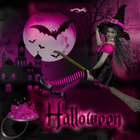 pink halloween picture  blingeecom