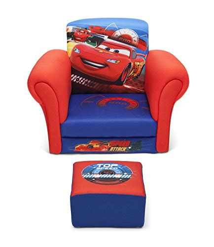 disney cars toddler chair delta children upholstered chair with ottoman disney
