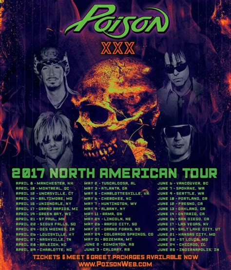 New Def Leppard Poison poison kicks tour with def leppard in manchester new