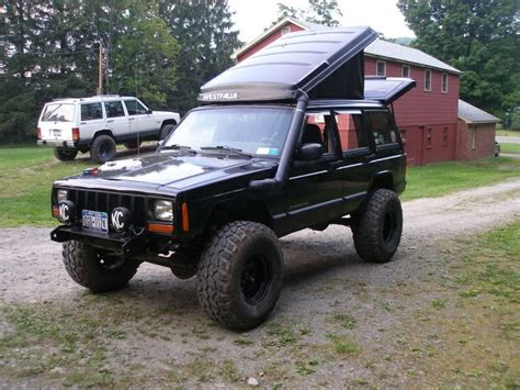 jeep pop up tent awesome westfalia vanagan pop up on a jeep xj jeep