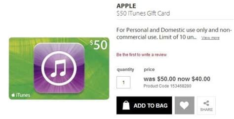 Coles Myer Gift Card Discount - expired get a 50 itunes card for 40 at myer save 20 gift cards on sale