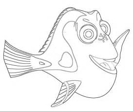dory coloring pages dory fish avondale style