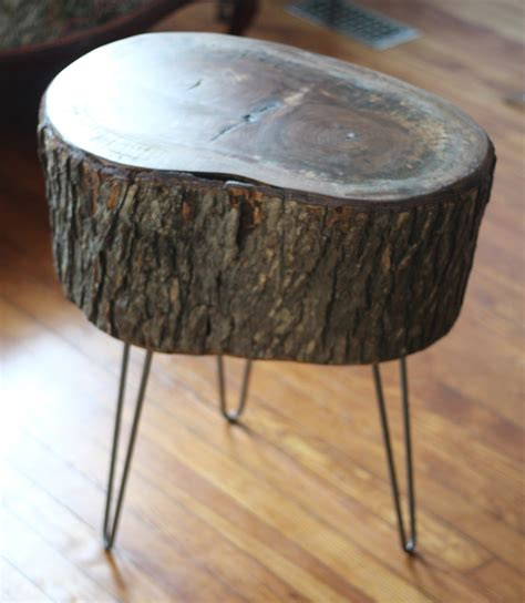 Wood Stump Table by 11 Tree Stump Side Table Designs Guide Patterns