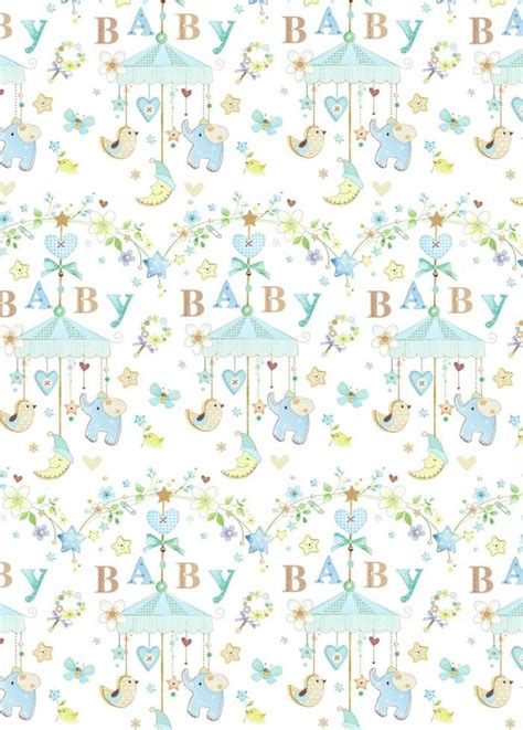printable wrapping paper baby 65 best papel baby images on pinterest