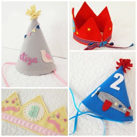 Handmade Paper Hats - the most gorgeous handmade birthday crowns and hats