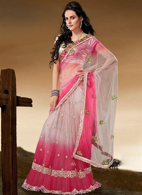 draping saree in lehenga style eves24 5 stylish ways to drape a saree