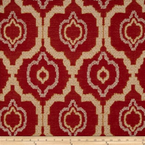 red gold upholstery fabric kaslen pharoah jacquard red gold discount designer