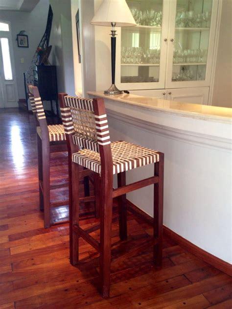 banquetas altas banquetas altas para bar muebles rusticos madera y cuero