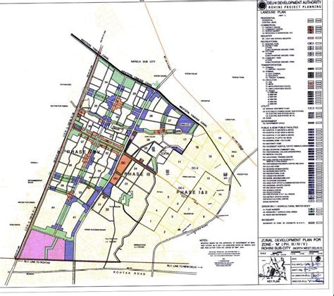 layout plan of karol bagh zone m north west delhi ii delhi masterplan mpd 2021