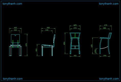Bar Stool Cad Block by Modern Design Chair Autocad Drawing Elegant Chair Dwg