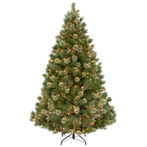 national tree company 7 1 2 ft feel real yukon fir hinged