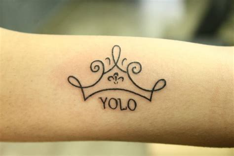 yolo tattoo designs minimalist ideas designs that prove subtle things