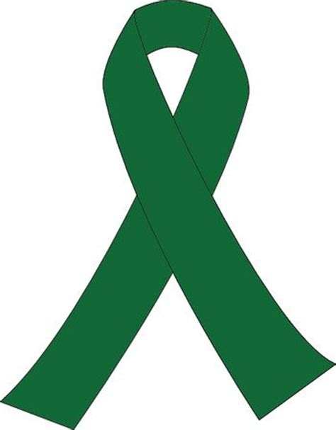 liver cancer awareness symbol jade green awareness