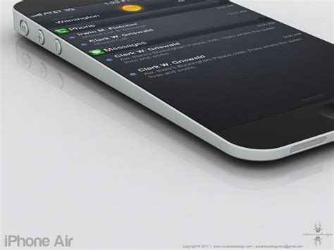 Iphone Air forget the iphone 5 check out this iphone air concept pics iphone in canada