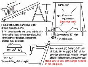 A Frame Plans Free How To Build A Porch Swing Frame Plans Diy Free Download