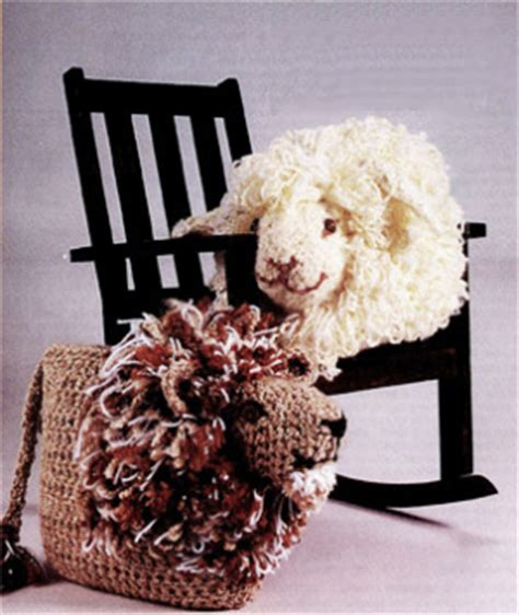 free crochet pattern 80093ad little lamb lion brand yarn crochet a little lamb for easter free patterns