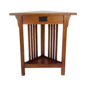 shop wayborn furniture oak birch corner end table at lowes com