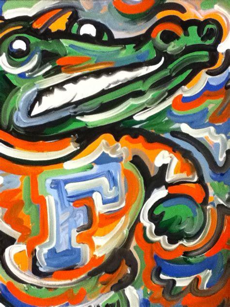 florida gators painting by justin patten sports