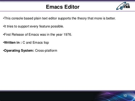 how to use the vi editor university of washington different types of editors in linux