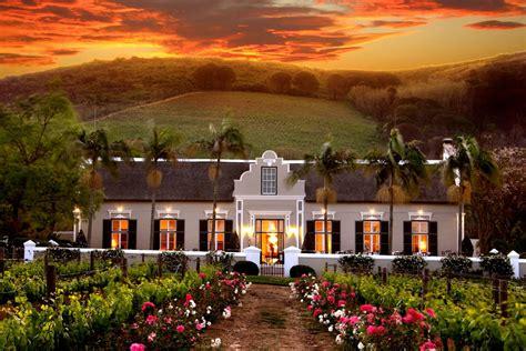 wedding venues in cape town winelands grande roche