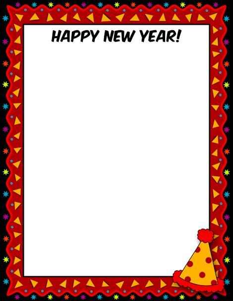 new year border printable happy new year border free gif jpg pdf and