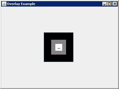 overlay layout java overlaylayout 171 swing 171 java tutorial