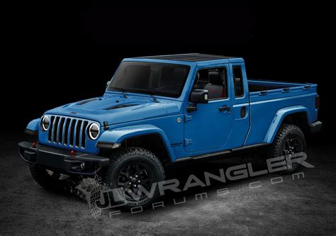 jeep truck 2019 jeep wrangler pickup looks scrambler rific in latest
