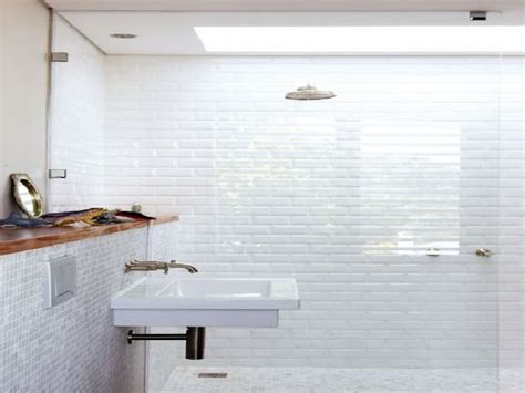 bathroom white tile ideas