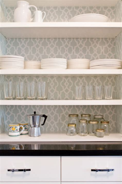 Kitchen Cabinet Shelf Paper 4 Ways To Disguise Horrible Kitchen Cupboards