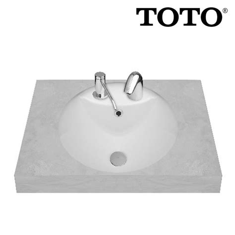 Cermin Toto jual wastafel toto lw 539 jt1 harga murah jakarta oleh